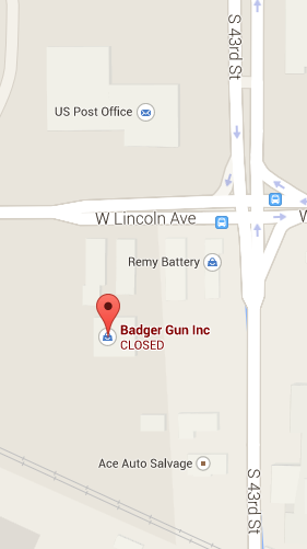badger guns   43rd street